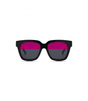 Jawel Mao Sunglasses-Accent-Chasm Red Purple