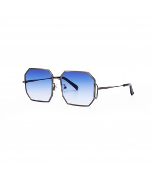 Jawel Mao Sunglasses-Fighting-Gradient Blue