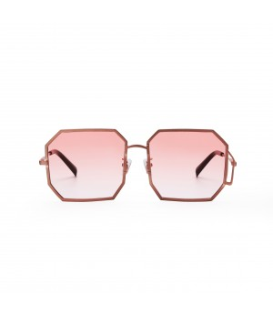 Jawel Mao Sunglasses-Fighting-Gradient Pink