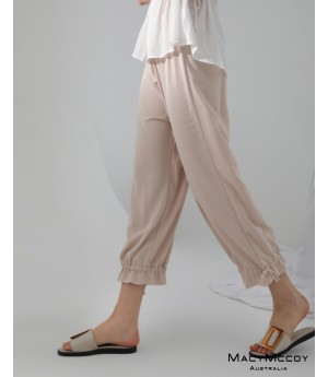MacyMccoy Leisure Pants-Rice Color