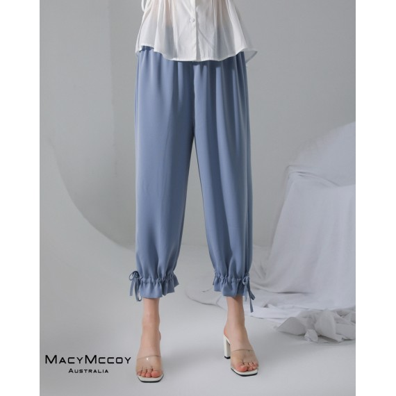 MacyMccoy Leisure Pants-Blue