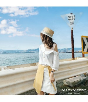 MacyMccoy Off-Shoulder Shirt