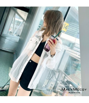 MacyMccoy Splice Jeans Coat