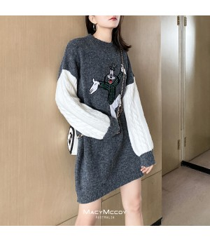 MacyMccoy Cartoon Sweater Dress
