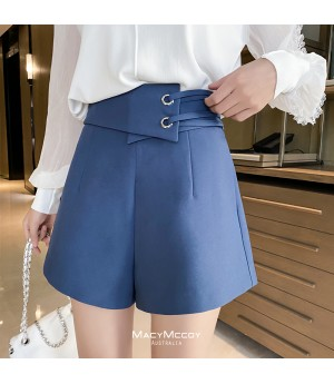 MacyMccoy Strap Skirt-Blue