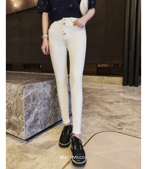 MacyMccoy White Small Trousers Jeans