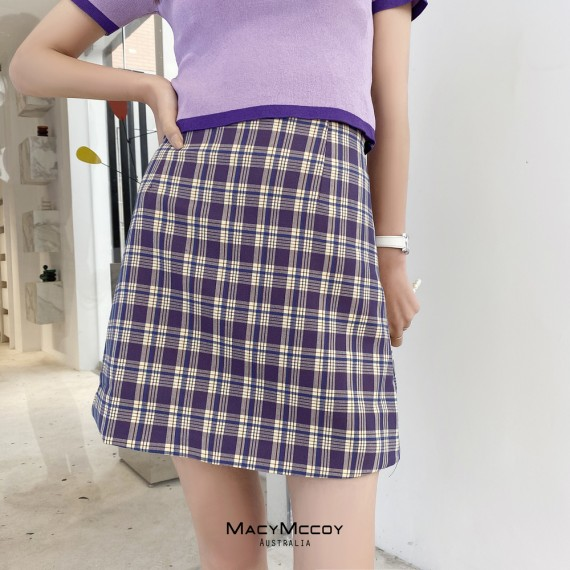 MacyMccoy Lattice Skirt