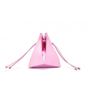 Double-X Pink Bucket Bag