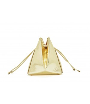 Double-X Gold Bucket Bag