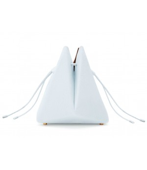 Double-X White Bucket Bag