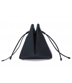 Double-X Black Bucket Bag