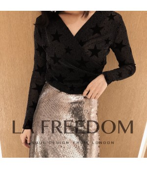 LA Freedom Black Top