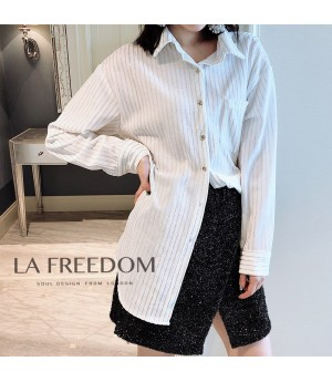 LA Freedom Shirt-White