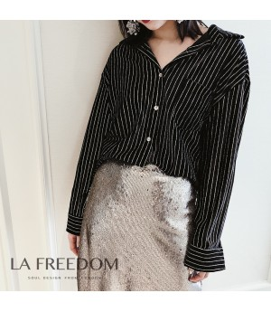 LA Freedom Shirt-Black