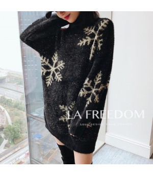 LA Freedom Sweater-Black