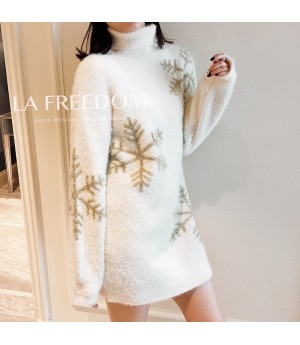 LA Freedom Sweater-White