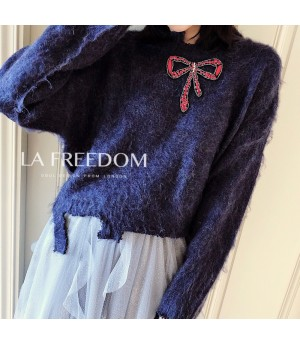 LA Freedom Blue Sweater