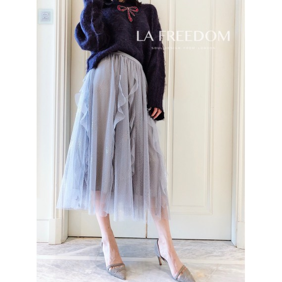 LA Freedom Blue Skirt
