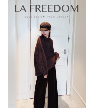 LA Freedom Coffee Sweater