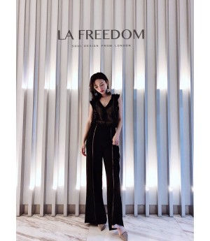 LA Freedom Lace Jumpsuit