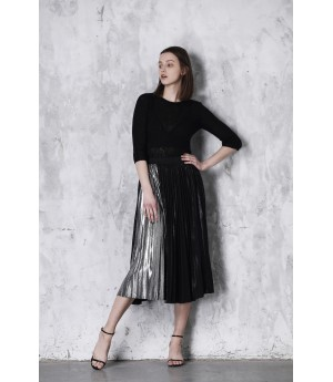 LA Freedom Skirt-Black and Grey