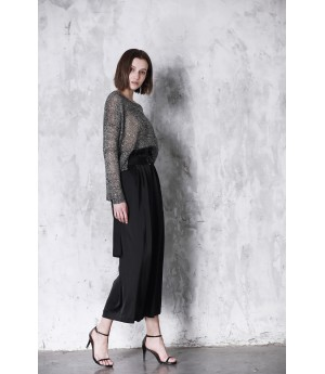 LA Freedom Black Wide Leg Pants