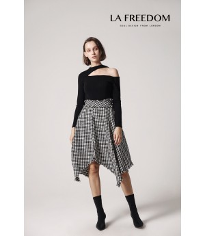 LA Freedom Asymmetric Skirt
