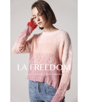 LA Freedom Pink Sweater