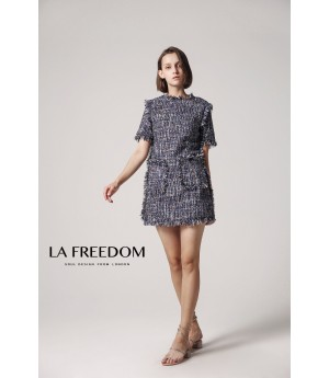 LA Freedom Fringed Dress