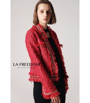 LA Freedom Red Coat