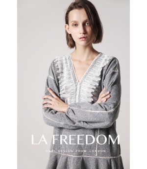 LA Freedom Grey Dress