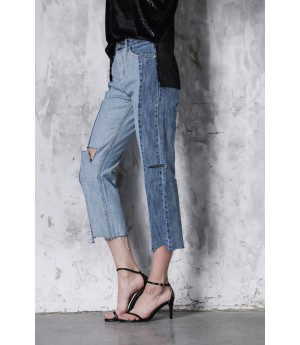 LA Freedom Two-Color Jeans