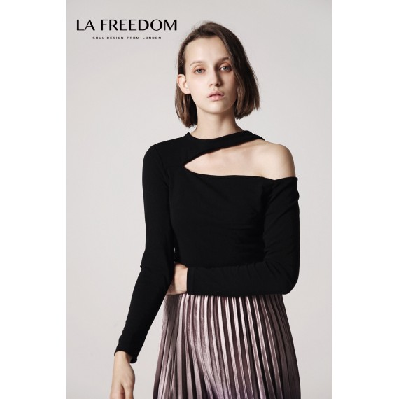 LA Freedom Black T-Shirt