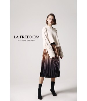 LA Freedom Skirt-Gold
