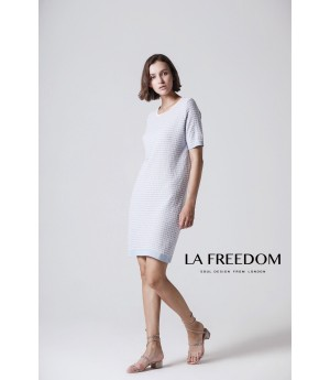 LA Freedom Dress-Blue