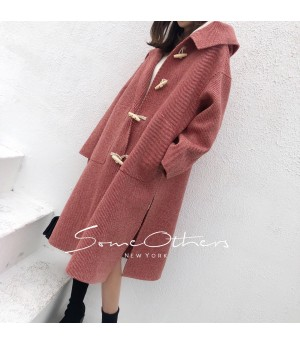 SomeOthers Coat-Red