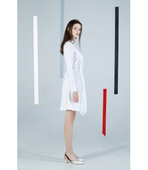 Timformation White Dress