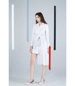 Timformation White Shirt Dress