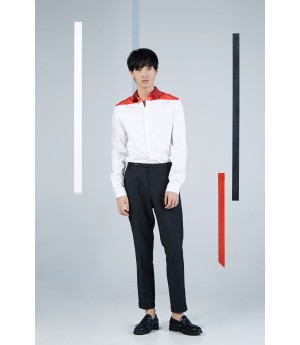 Timformation Red Collar Shirt