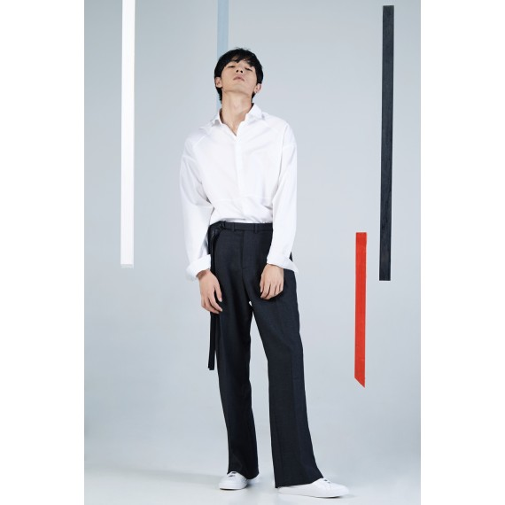 Timformation Black Suit Pants