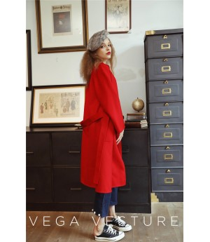 VEGA VESTURE Red Coat