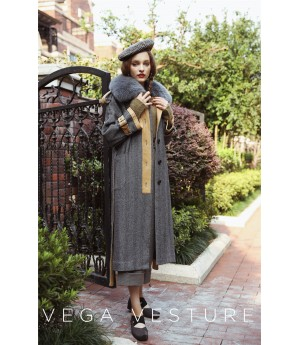VEGA VESTURE Grey Coat
