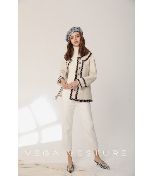 VEGA VESTURE White Coat