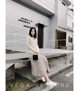 VEGA VESTURE Grey Sweater