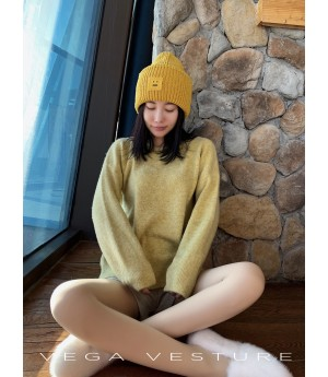 VEGA VESTURE Macarons Sweater-Yellow