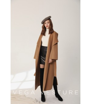 VEGA VESTURE Brown Cashmere Coat