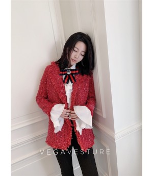 VEGA VESTURE New Year Red Coat