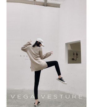 VEGA VESTURE Pencil Pants-Black