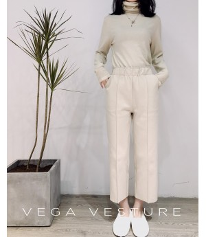 VEGA VESTURE Wide Pants-White