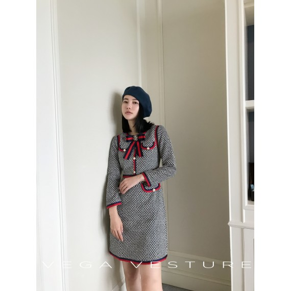 VEGA VESTURE Grey Dress